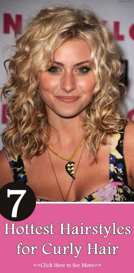 7 Hottest Hairstyles for Curly Hair...love Natalie Portmans in this article!!
