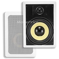 Product Image for 8 Inches Kevlar 2-Way In-Wall Speakers (Pair) - 80W Nominal, 120W Max
