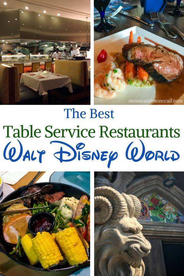 The Best Table Service Restaurants At Disney World Best Disney