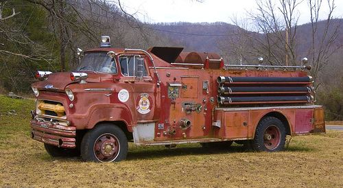 1957 Chevrolet COE Fire Truck.....