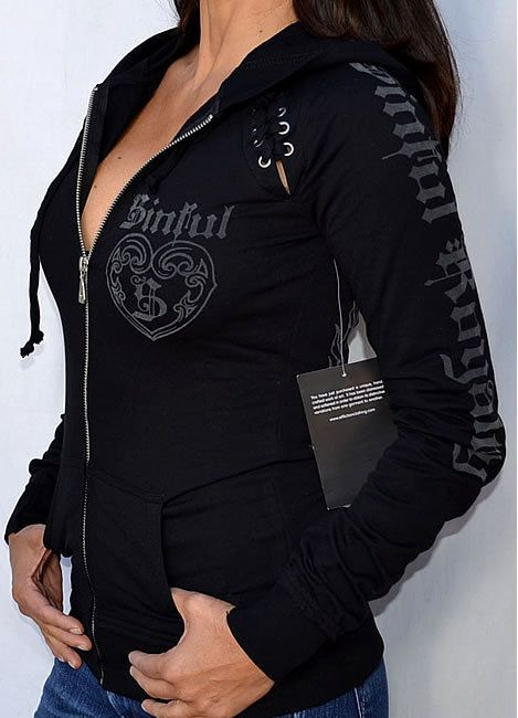 Sinful by Affliction Clothing LOVE this hoodie