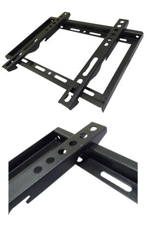 TVCables 200 x 200 Fixed TV Wall Mount 14-37 30kg Slim 200 x 200 Fixed TV Wall Mount suitable for TVs from 14 to 37 inch max weight 30kg supports VESA 50 x 50 VESA 100 x 100 and VESA 200 x 200. Black steel supplied with fixing kit. http://www.MightGet.com/may-2017-1/tvcables-200-x-200-fixed-tv-wall-mount-14-37-30kg-slim.asp