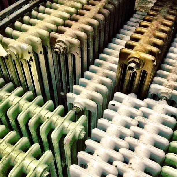 Reclaimed victorian radiators