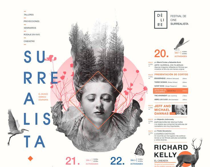 Check out this @Behance project: \u201cDELIRÈ   Festival de Cine Surrealista\u201d https://www.behance.net/gallery/44730489/DELIRE-Festival-de-Cine-Surrealista