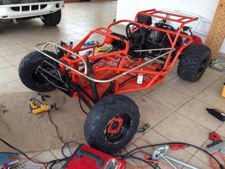 how to build a mechanical go kart