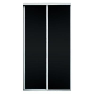 Contractors Wardrobe 72 in. x 81 in. Concord Chalkboard Panels with White Aluminum Frame Interior Sliding Door-CCB-7281WHN2R - The Home Depot