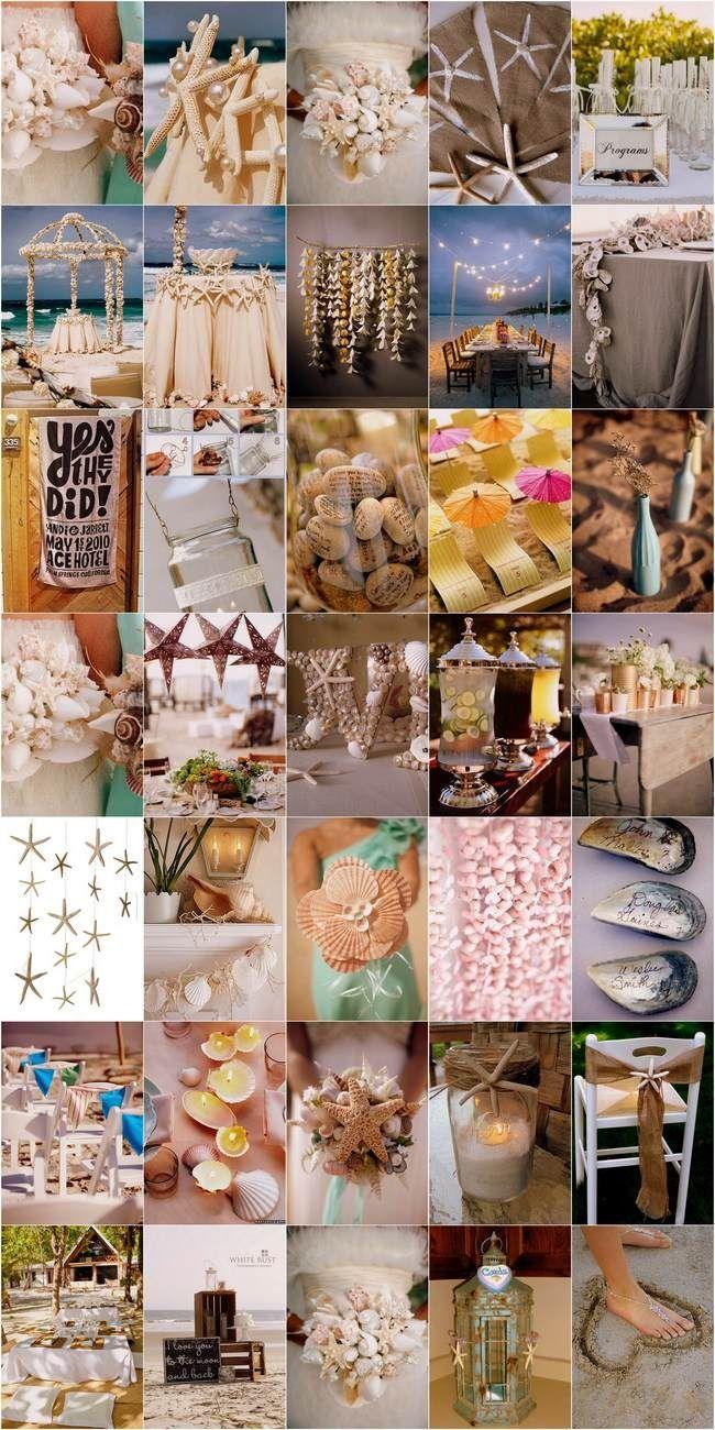 DIY Beach Wedding Inspiration Ideas - Learn how to create a memorable coastal wedding affair with our collection of 30 DIY Beach Wedding Projects and Ideas! #Wedding #Beach #Theme #DIY