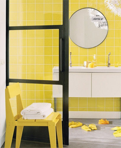 Yellow Tiles For Kitchen: 25+ Best Yellow Tile Ideas On Pinterest