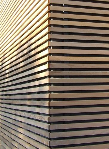 Les 25 meilleures idées concernant Habillage Mur Exterieur sur Pinterest Escalier en beton  # Habillage Bois Mur Exterieur
