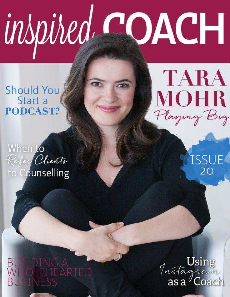 inspired COACH Magazine with Tara Mohr