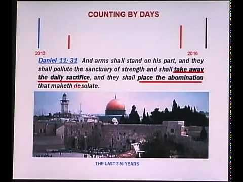 Foundational teaching to understand God's calendar.  I haven't watched yet, so I can't endorse it.  ▶ Daniels Timeline - Full Version - End Times Tribulation.  YouTube