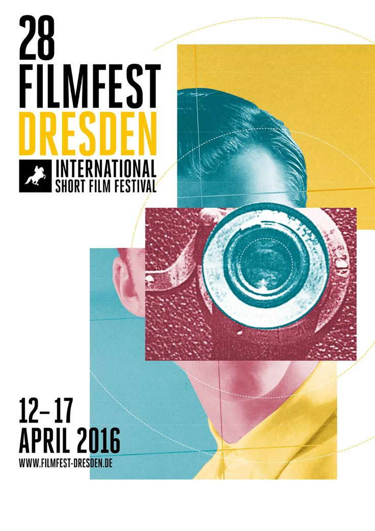 Filmfest Dresden 2016, International Short Film Festival #affiche #festival #affichefestival #dresden #shortfilm
