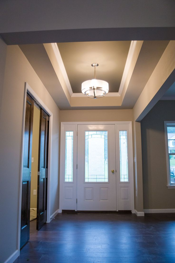 Foyer Tray Ceiling : Best modern carriage manor home in danville pa images