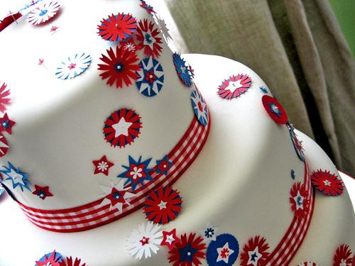 red white and blue cakes | The Great British Summer - Red, White ...