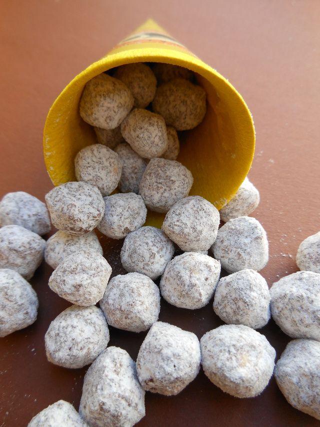 Gasztroajándékok: csokis drazsévariációk házilag