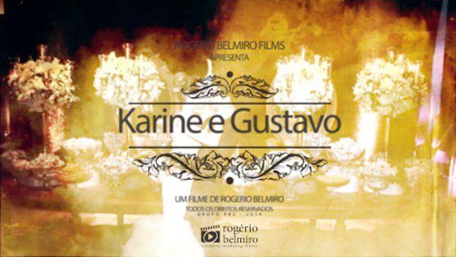 Karine e Gustavo