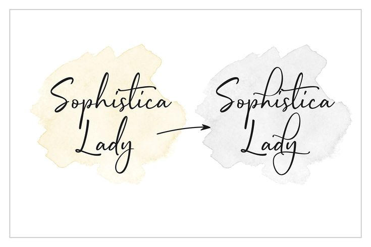 Sophistica -Stylish Font Duo +Extras by UnionHands on @creativemarket