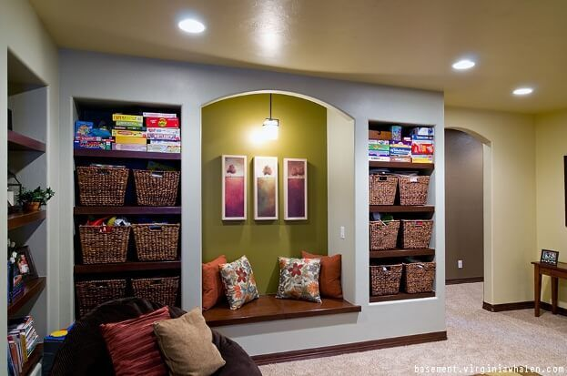 6 Tips For Extremely Organized Basement Storage Finishing Basement Finished Basement Designs Basement Design
