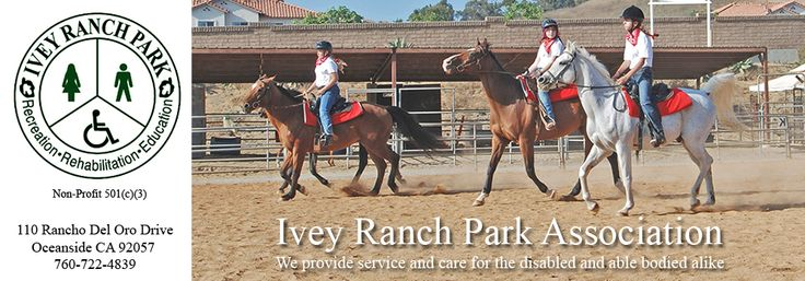 Ivey Ranch Park is dedicated to encourage the interaction