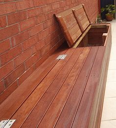 Merbau Decking Benches