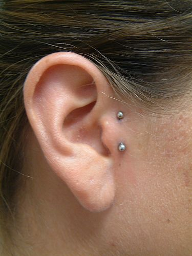 Don't get this piercing.... it's adorable, but it is almost always painful and I had it for almost two years.