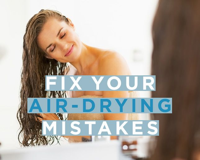 How to Air Dry Your Hair So it Looks Amazing | Women's Health Magazine