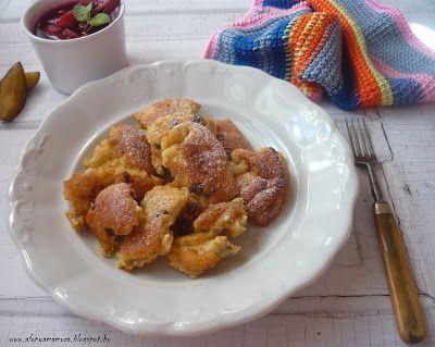 Az áfonya mámora: Túrósmarni fűszeres szilvakompóttal