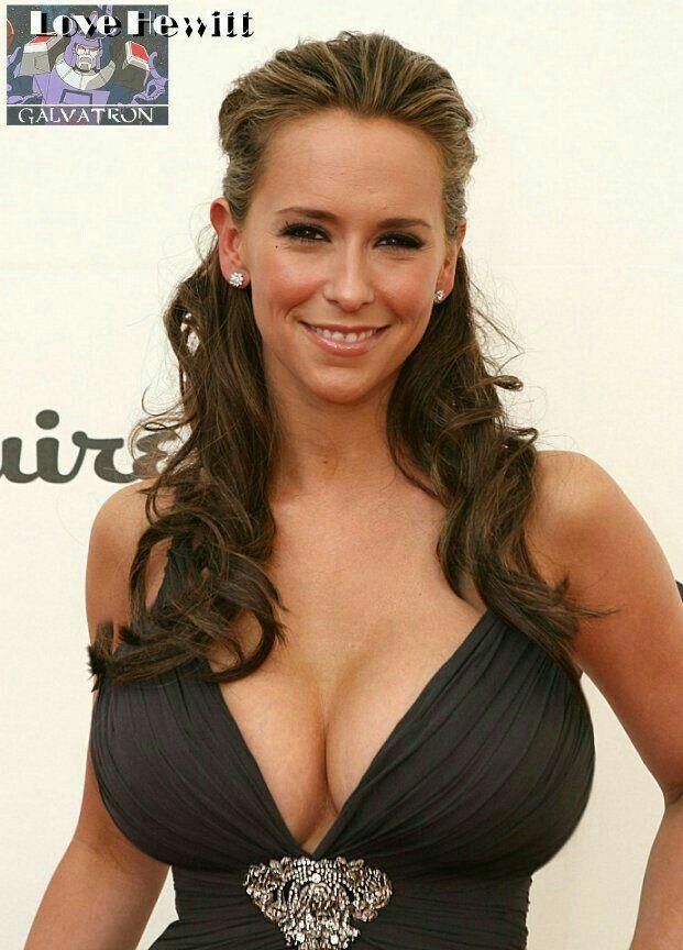 Hewitt jennifer breasts love