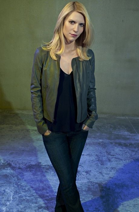 Her hair! Claire Danes as Carrie Mathison in Homeland.  Photograph: Showtime/Nadav Kander