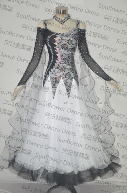 Для бальных танцев юбка женская новый современный танец костюм концертное платье для бальных танцев юбка