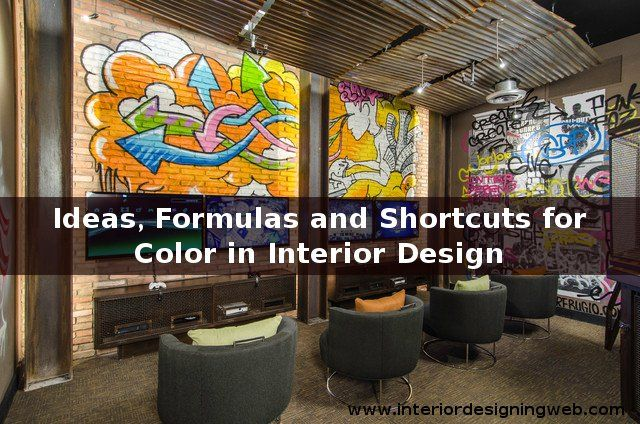 #Colors are extremely important to select when you opted to #paint your #home, #office or #factory. Check Ideas, Formulas and Shortcuts by #InteriorDesigningWeb
