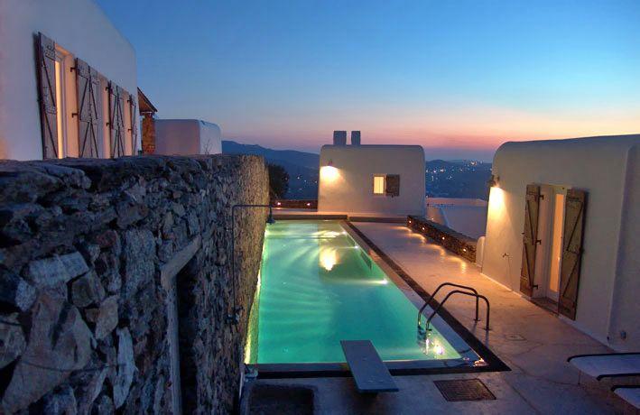 Retreat to a stunning Mykonos holiday villa