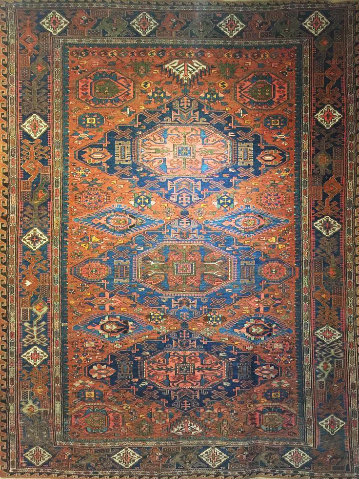 tappeto antichi sumak caucasico