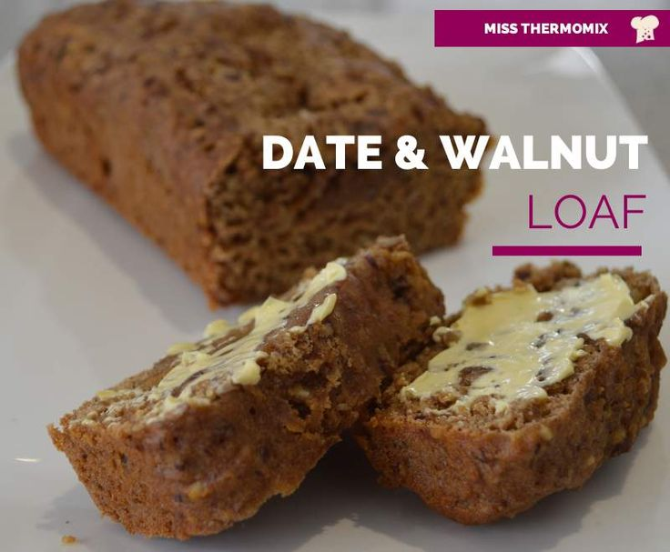 Date and Walnut Loaf by MissThermomix on www.recipecommunity.com.au