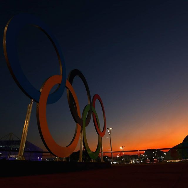 Less than 4 days to go until the start of the Olympic Games!  Goodnight! #roadtorio  Photo:  Getty Images