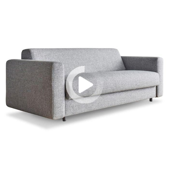 Innovation Sofa Bed Killian 160 Spring Cm Granite Fabric In 2020 Sofa Bed Bed Comforters Furniture For You