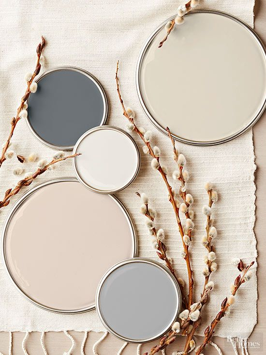 Neutral Paint Colors for creating a relaxing home!