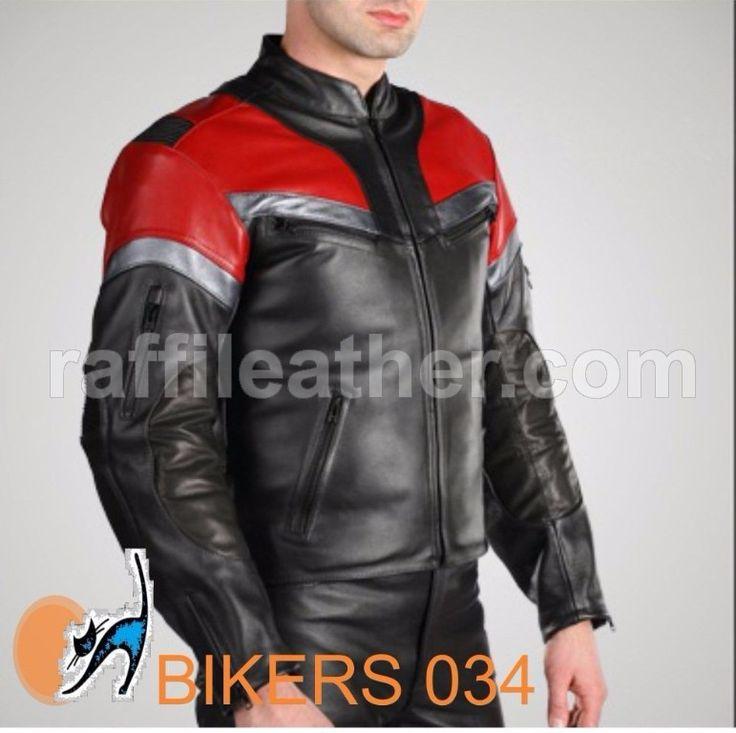 Jaket Kulit Bikers 034 #jaketkulit