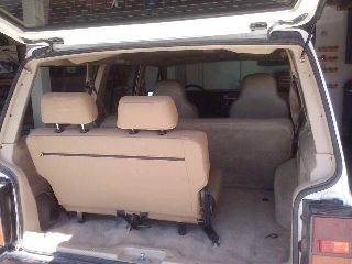 Ben's Jeep Cherokee (XJ): Third row seat