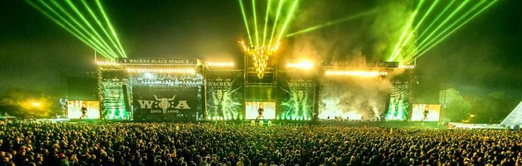 \m/ #Wacken Open Air #music fest Wacken, Schleswig-Holstein, #Germany  Aug 4 - Aug 6, 2016 http://www.wacken.com/en/bands/bands-billing/