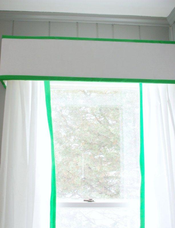 Kelly Green Curtains With Light Gray Grasscloth Walls: Best 25+ Pelmet Box Ideas On Pinterest