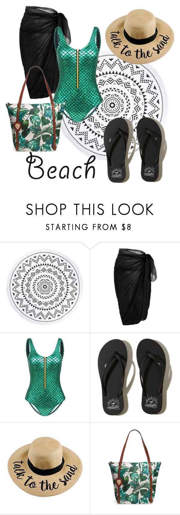 Mermaid inspiration by patsilvarte-blog on Polyvore featuring Hollister Co. and Tommy Bahama