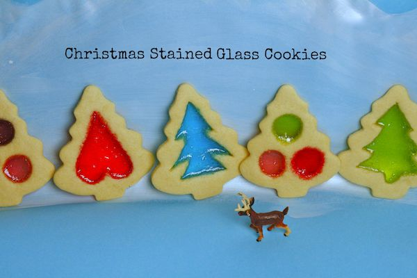 Christmas Stained Glass Cookies via @Nicole Marie Presley's Pantry #CardstoreCookie