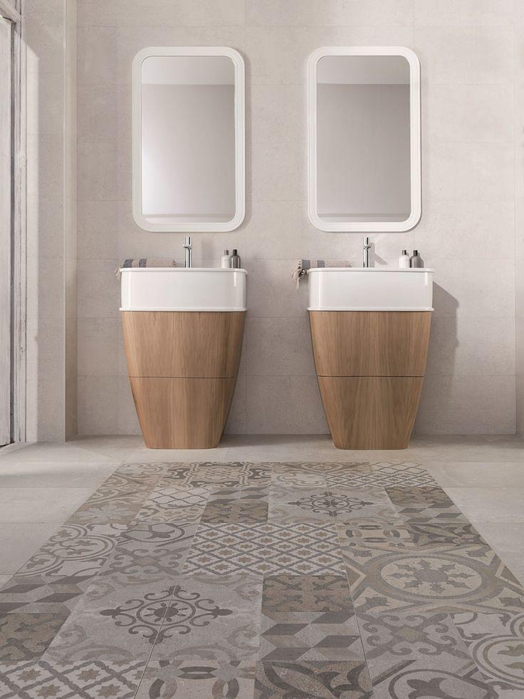 Фото из статьи: Самый модный декор напольной плитки: 5 стилей и 10 идей