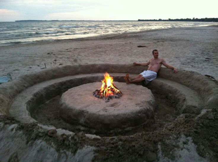 Beach fire pit Images - Frompo