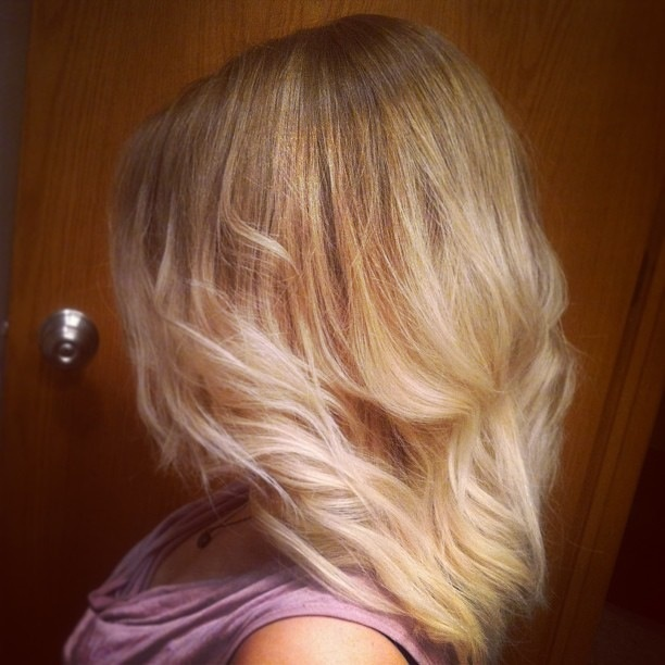 Light brown to white blonde ombre | Proud of my Work ...
