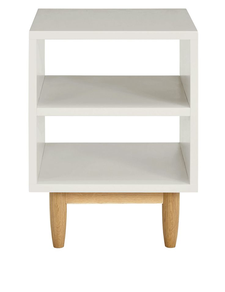 Alto Painted Bedside Table Grey