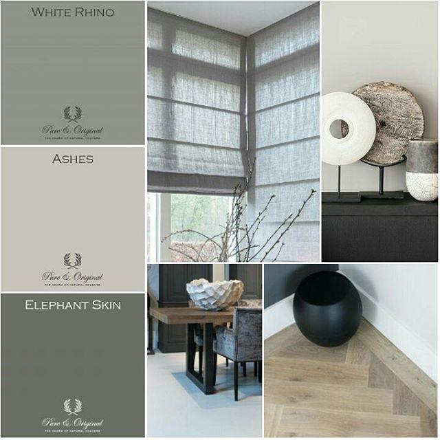 Interieur advies voor woonkamer @keijserenco @pure_original_paint #copahome #paint #interior #furniture #colorlove (bij Konijnendijk Woontrends)