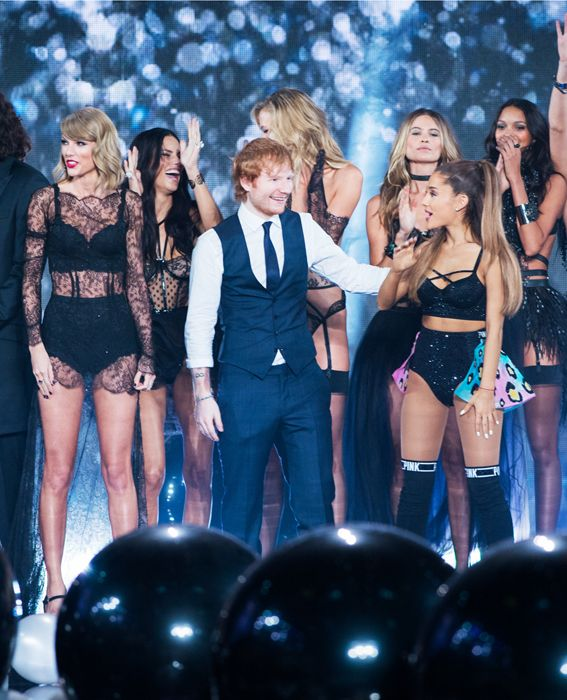 Highlights from the 2014 Victoria's Secret Fashion Show - Taylor Swift, Ed Sheeran, Ariana Grande, and The Angels