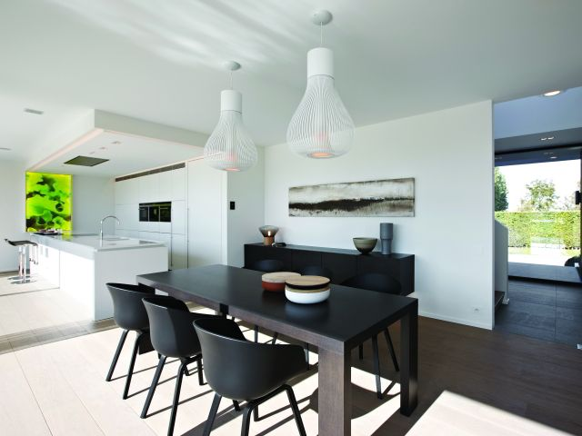 39 best licht verlichting images on pinterest architects construction and villas - Eetkamer keuken ...